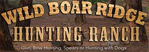 Wild Boar Ridge Hunting Ranch Logo