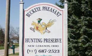 Buckeye Pheasants Hunting Preserve