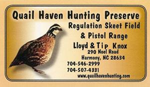 Quail Haven Hunting Preserve