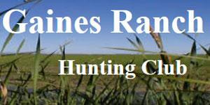 Gaines Ranch Hunting Club Logo