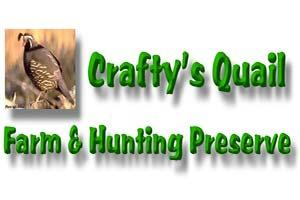 Crafty's Quail Farm & Hunting Preserve Logo