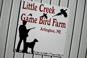 Little Creek Game Bird Farm Logo