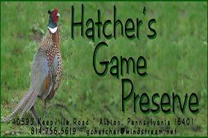 Hatcher's Game Preserve