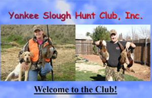 Yankee Slough Hunt Club Logo