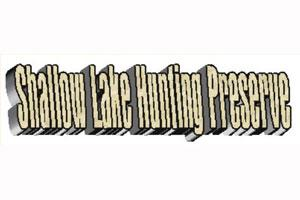 Shallow Lake Hunting Preserve Logo
