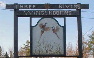 Three Rivers Wingshooting  Logo