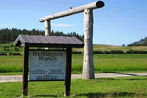 Burlington Ranch Logo