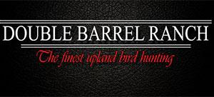 Double Barrel Upland Bird Ranch Logo