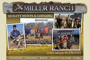 Miller Ranch & Hunting Preserve Logo