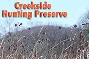 Creekside Hunting Preserve Logo