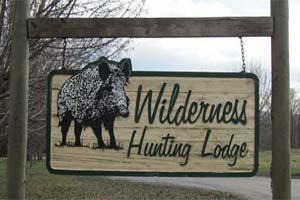 Wilderness Hunting Lodge Logo