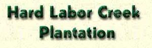 Hard Labor Creek Hunting Plantation Logo