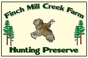 Finch Mill Crek Hunting Preserve Logo