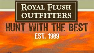 Royal Flush Outfitters Logo