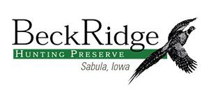 Beck Ridge Hunting Preserve Logo