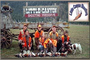 Little Canyon Shooting Preserve and Sporting Clays Logo
