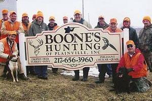 Boone's Hunting Plainville Inc. Logo