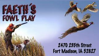 Faeth's Fowl Play Logo