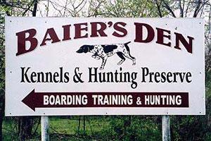 Baier Den Kennels & Hunting Preserve