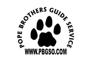 Pope Brothers Guide Service Logo