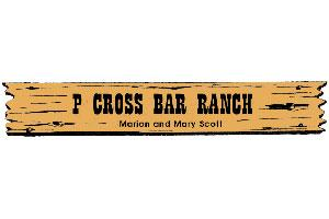 P Cross Bar Ranch Logo