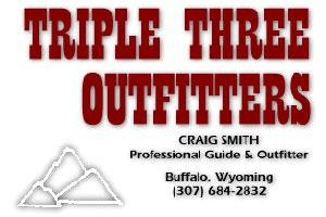 Triple Three Outfitters Logo