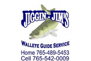 Jiggin' Jim's Walleye Guide Service Logo