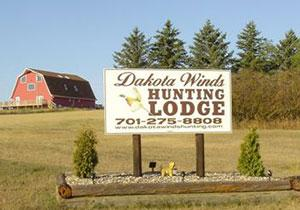 Dakota Winds Hunting Logo