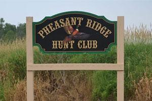 Pheasant Ridge Hunt Club  Logo