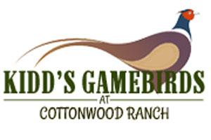 Kidd's Gamebirds at Cottonwood Ranch Logo