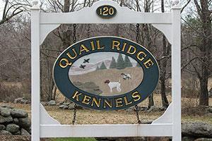 Quail Ridge Kennels  Logo
