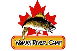 Woman River Camp Logo
