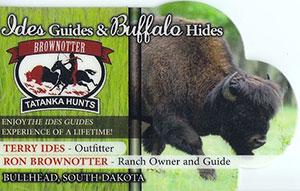 Brownotter Buffalo Ranch Logo