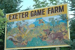 Exeter Game Farm Logo