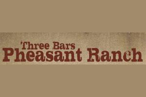 Three Bars Pheasant Ranch Logo