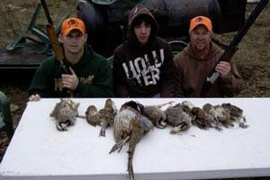 Ozark Mountain Bird Hunts