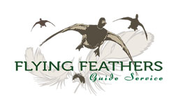 Flying Feathers Guide Service Logo