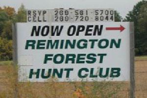 Remington Forest Hunt Club Logo