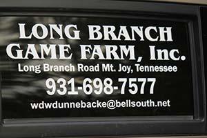 Long Branch Game Farm Logo