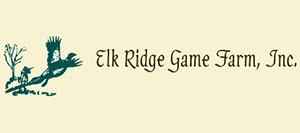Elk Ridge Game Farm Logo