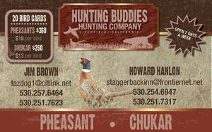 Hunting Buddies Hunting Club Logo