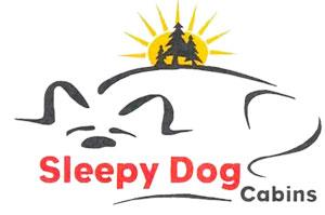 Sleepy Dog Cabins Logo