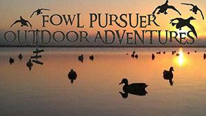 Fowl Pursuer Outdoor Adventures Logo