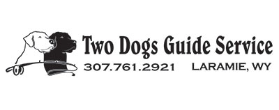 Two Dogs Guide Service Logo