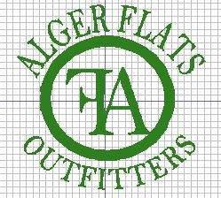 Alger Flats Outfitters Logo