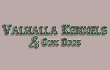 Valhalla Kennels & Gun Dogs Logo