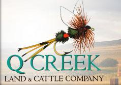 Q Creek Land & Livestock Company Logo