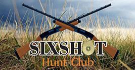 Sixshot Hunt Club Logo