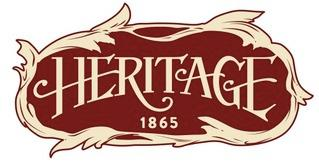 Heritage 1865 Hunting Lodge Logo