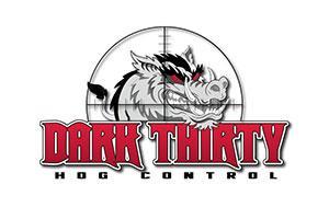 Dark Thirty Hog Control Logo